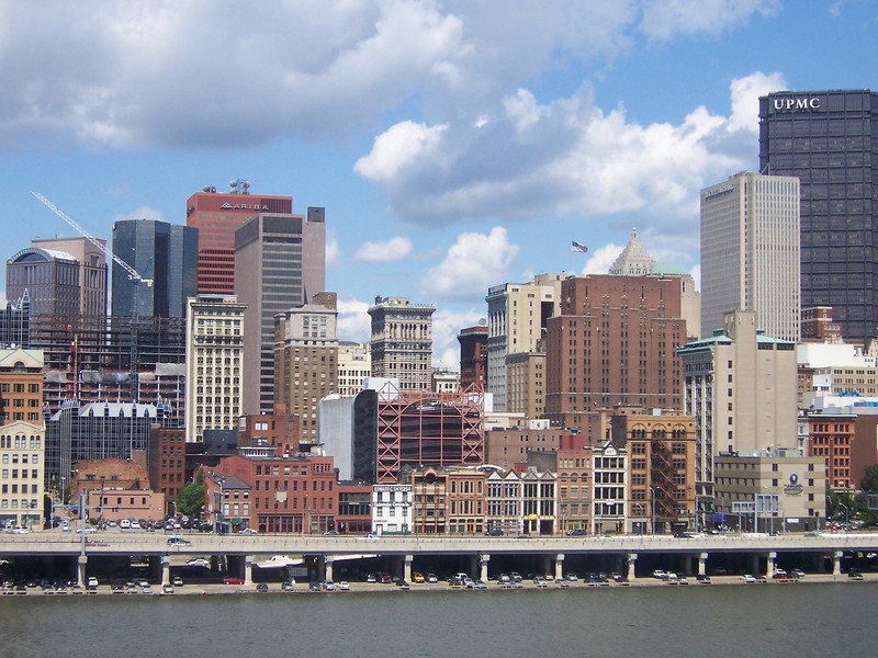 Pittsburgh - not a bad lookin' city.
