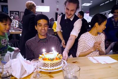Piyush's Birthday Dinner--April 2015