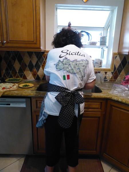 Fran shows us her Sicilian side