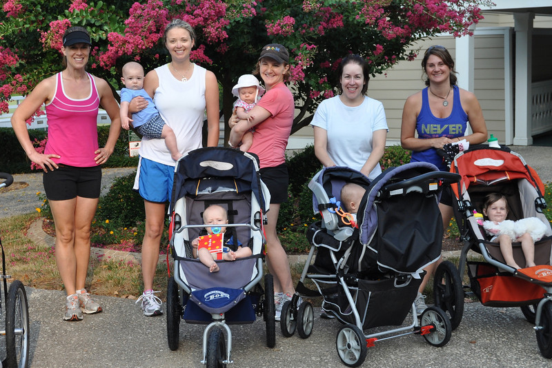 Healthy Moms Powerstroll class with our instructor Ann