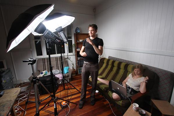 Playing with Studio Lights