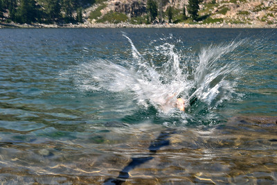 Rick makes a splash.