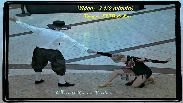 Video:  3 1/2 mins. ~~ Porter, Allen & Karen (Click on image and then on triangle and video will play)