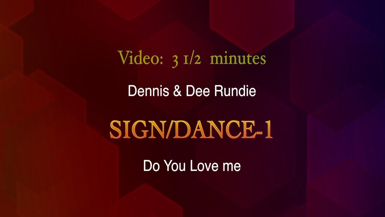 Video:  3 1/2 minutes ~~ Dennis & Dee Rundie