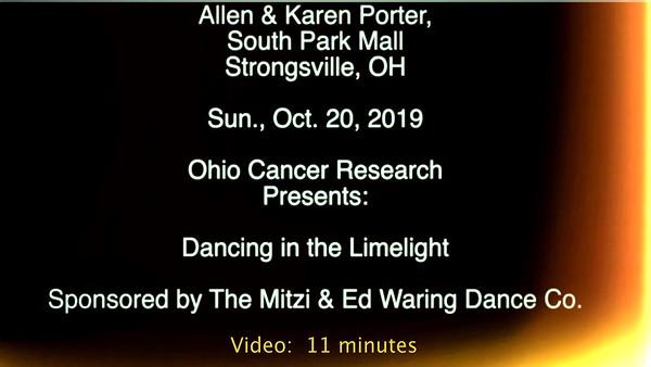 Allen & Karen Porter -  Dancing in the Limelight, Sun., Oct. 20, 2019