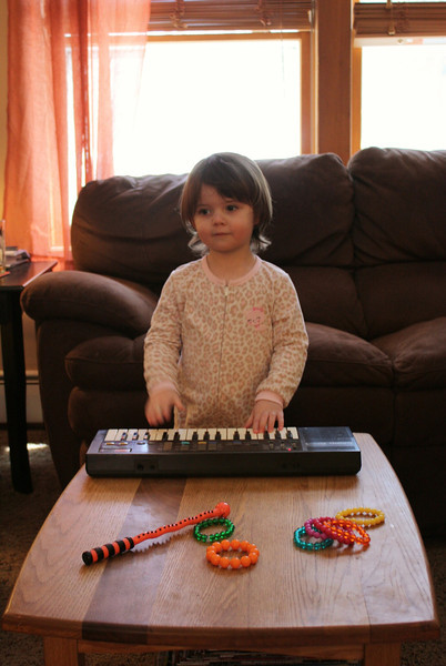 Nora with Keyboard 1