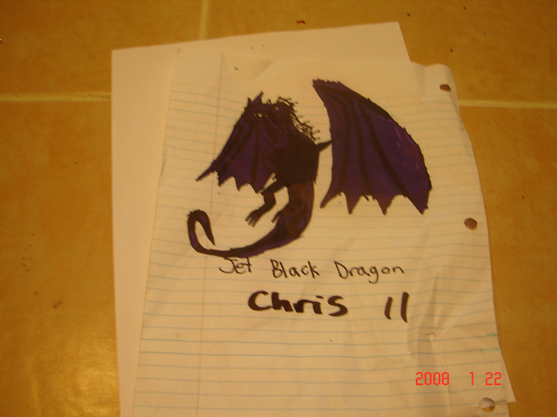 Chris' picture for the store.