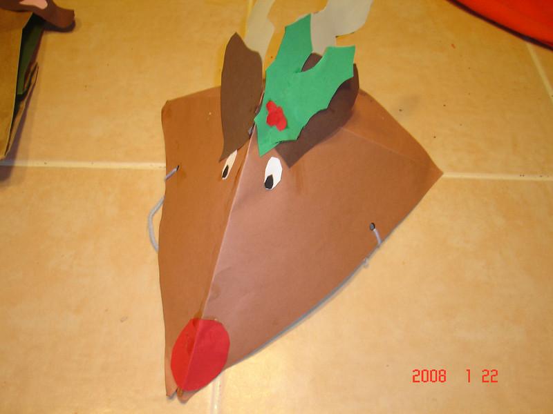 Ian's rudolph hat