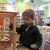 Playing at the Toy Factory store