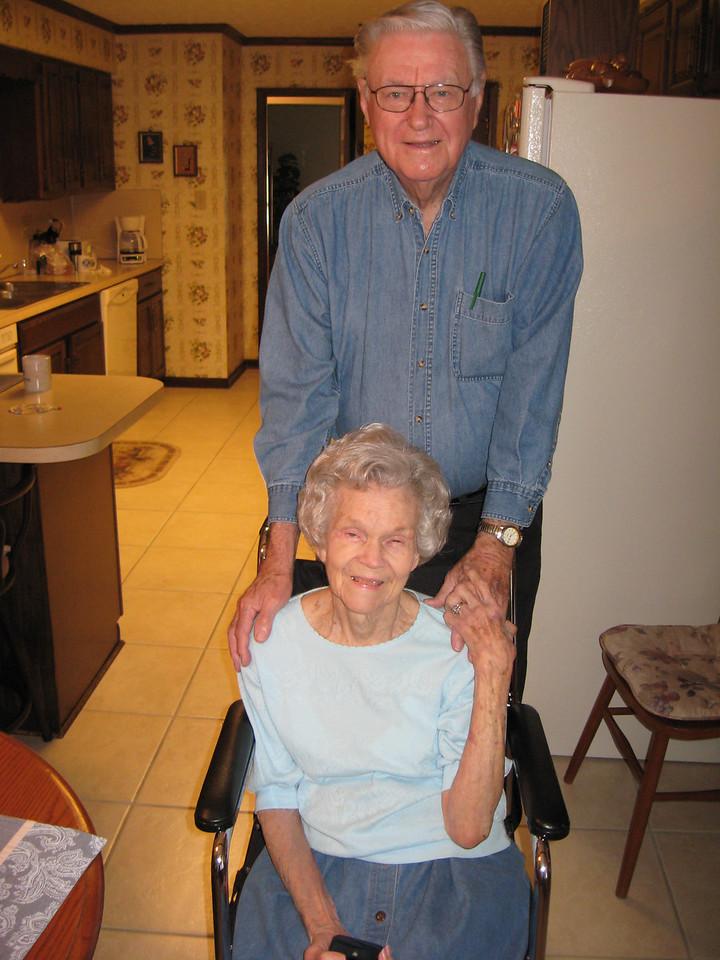 R. J. Stevens and wife, Pauline