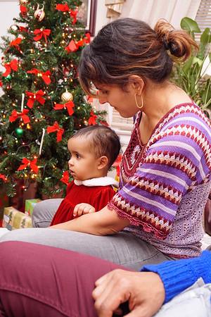 Raf, Rosa and Nyla Visit My Parents'--Christmas 2015