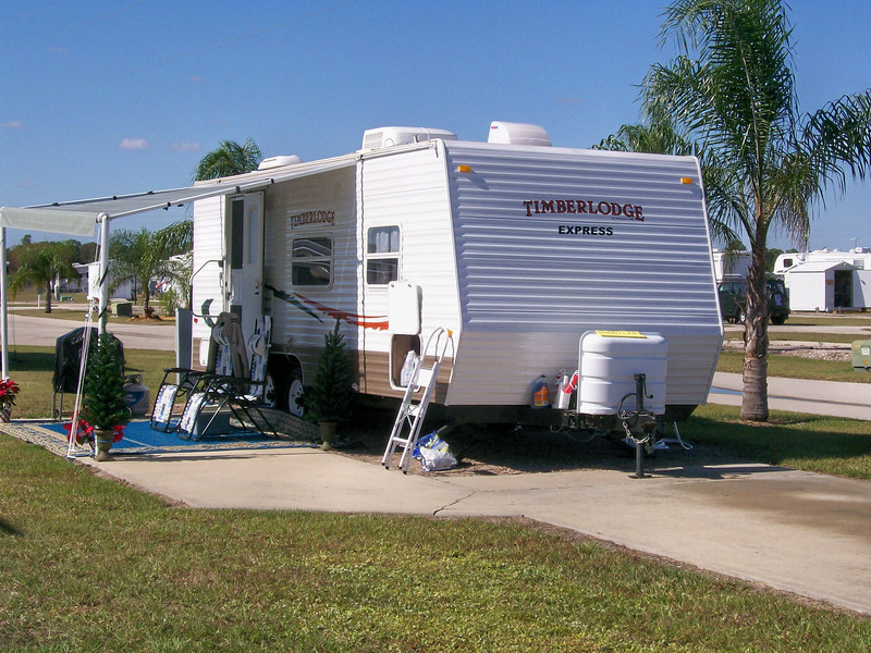 Trailer Site At Rainbow
