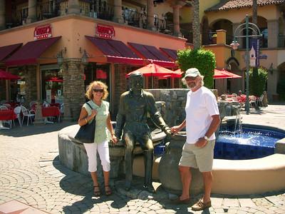 Ex Palm Springs Mayor Sonny Bono in Bronze