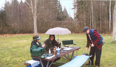 When I lived on Bainbridge Island, I started doing bird banding. It was pretty interesting!