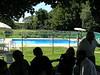 P8250014 Shake says 'No kayak allowed in this pool!'