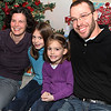 Kim Reinoehl and Brian Cashdollar with their two daughters Kambree and Ayla.
