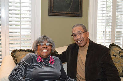 Gloria Campbell & her godson, Willy Robinson