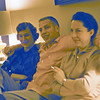 Cherry & George Balyeat with Maxine Bagley in the family room at Hollister, Ca.