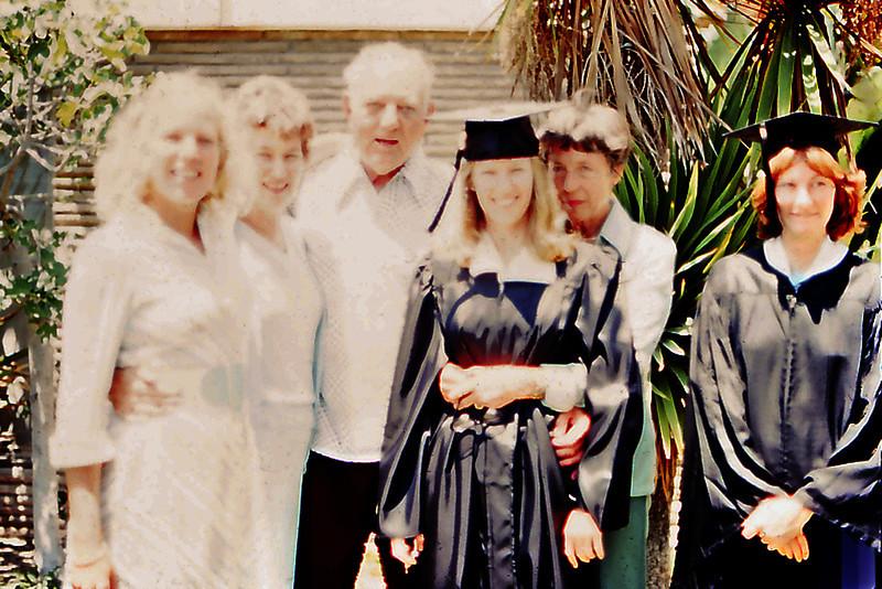 Laurel's BA Graduation w/ Cherry & Allison Balyeat, Stew & Maxine Bagley, LeAnne Abel