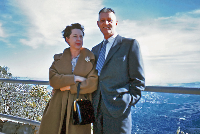 Maxine and Stew Bagley in Monterey, Calif.