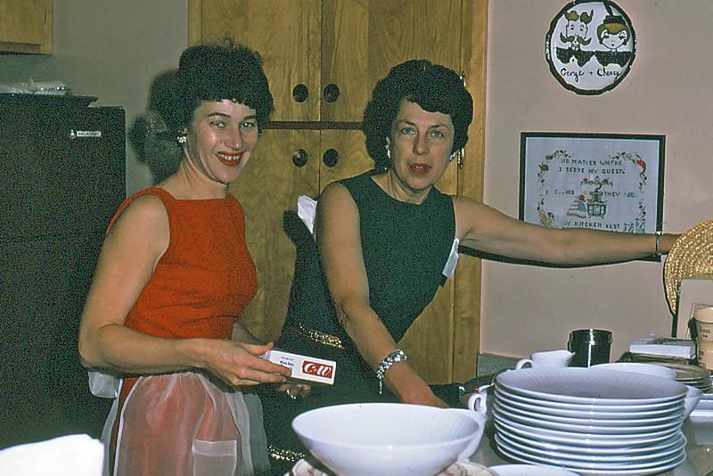Cherry Balyeat and Maxine Bagley, Alameda, Ca.