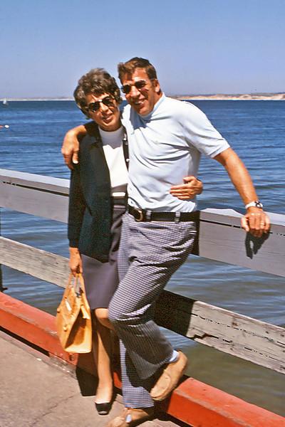 Maxine Bagley and George Balyeat, Monterey, Ca.