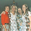 Maxine Bagley, Alison and Laurel Balyeat with Grandma Johnson, Pt. Mugu, Ca.