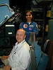 Kalpana and I in VMS facility at Ames Research Center (Jan 2002)