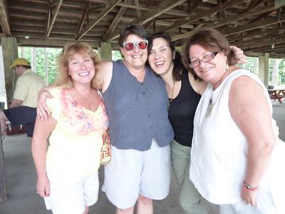 Lorian, Monique, Michele, and Janette