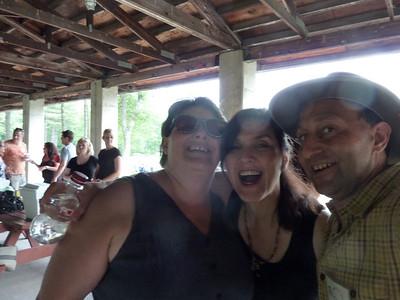 Monique, Michele, and Shep