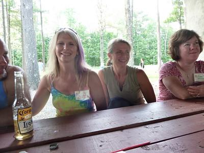 Christine, Kathy, and Peggy