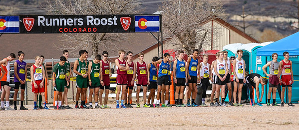 Lyons runners at State X-Country 10-28-17