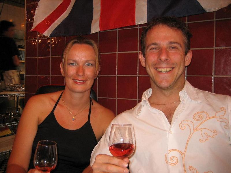 Petra and I
