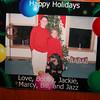 a card at christmas