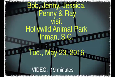 VIDEO:  19 minutes--Click on image above and then on triangle and video will play.