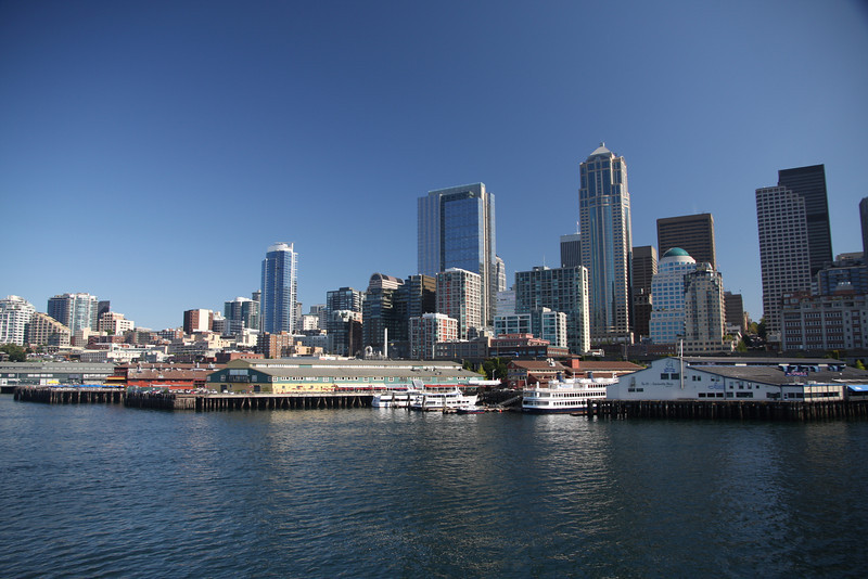 Seattle from the ferry.