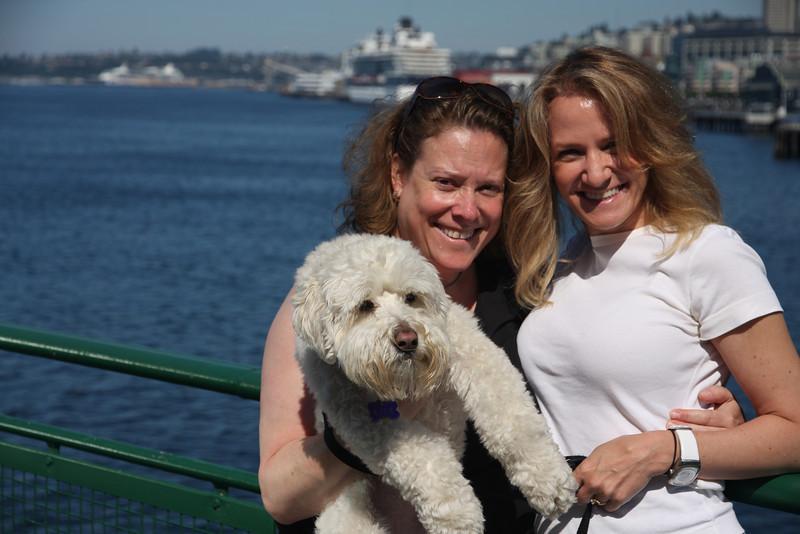 Roxie, Amy & Rosie.