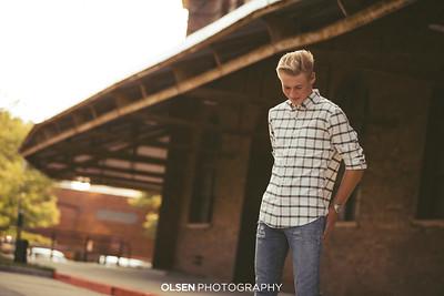 080319 Ross Thompson Senior Photography Session Omaha, Nebraska Olsen Photography // Nathan Olsen