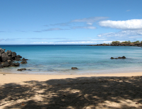 Wailua Bay on West Hawaii is a perfect snorkel spot.