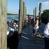 arriving at Rum Bay Dock