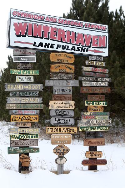 Winterhaven Lake Pulaski...where everyone knows your name.