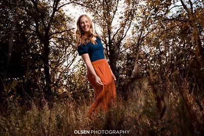 Rylee Johnson Senior Portraits