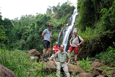 Kinukamori Waterfalls in Marangu. Moshi district, Tanzania.