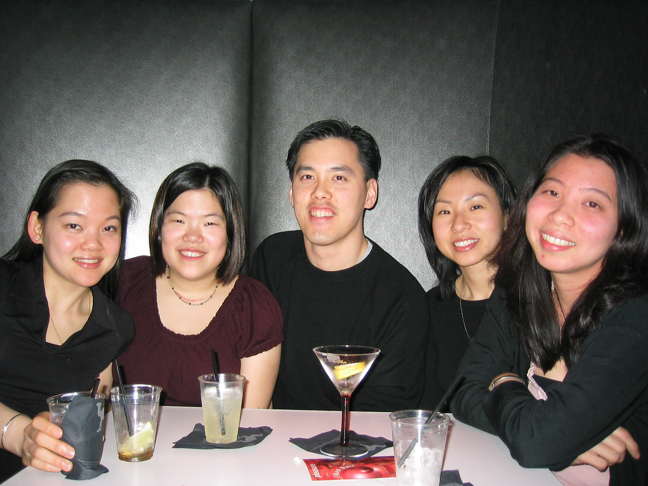 Joann, Veronica, Benny, Helen, & Grace @ SnoDrift, Thursday 2-20-2003