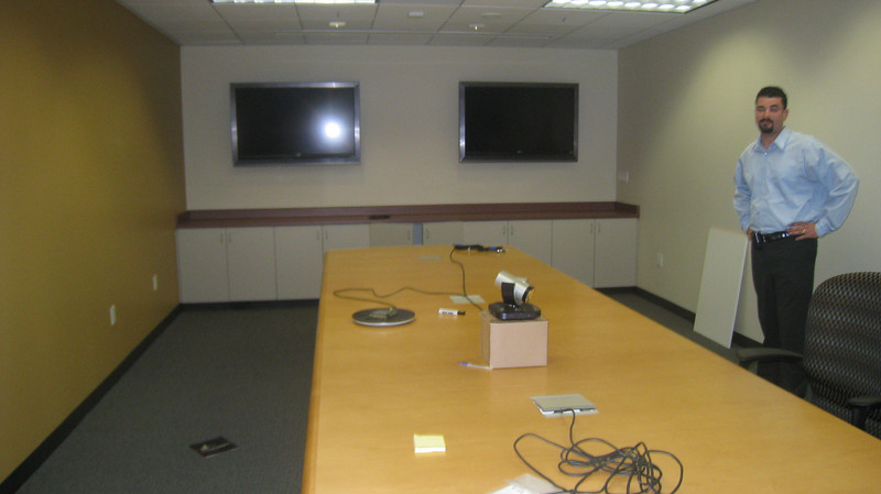 One of the conference rooms