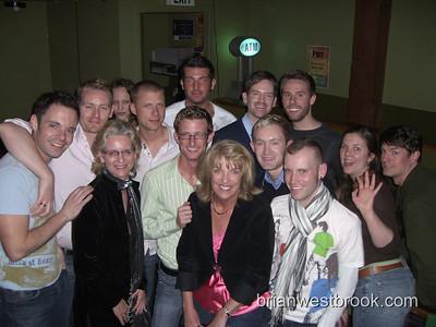 Back: Alex G., Richard D., ?, Jason K., Patrick V., Nate W., Andy  Front: Nancy D., Jay R., Denny R., Newbie, Jon, E, ?, ?  (Not pictured:  BMW)