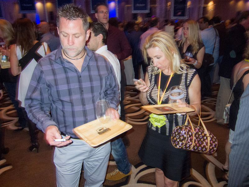 SOBEWFF '14: Enjoying the event or enjoying Facebook?