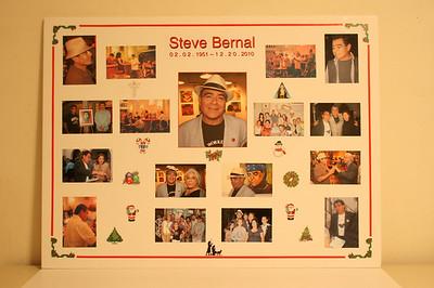 STEVE BERNAL MEMORIAL PLACARD
