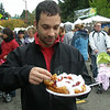 October 6 2007 Dimitrios ready to dig into his funnel cake...