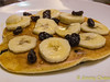 Banana Raisin Pancake by Melissa LiLian.